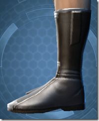 Plastiplate Boots - Male Left