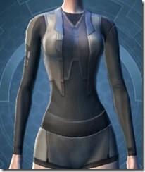 Plastiplate Chestguard - Female Front