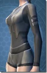 Plastiplate Chestguard - Female Left