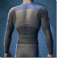 Plastiplate Chestguard - Male Back
