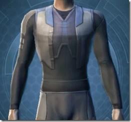 Plastiplate Chestguard - Male Front