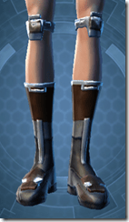 RD-02A Battle Boots - Female Front