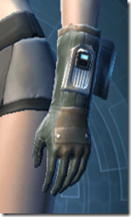RD-02A Combat Gloves - Female Left