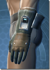 RD-02A Combat Gloves - Male Left