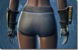 RD-12B War Gauntlets - Female Back
