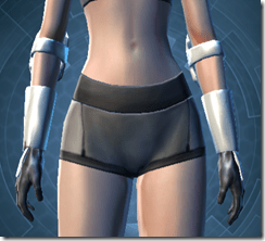 RD-12B War Gauntlets - Female Front