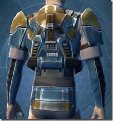 Refurbished Scrapyard Armor - Male Back