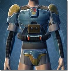 Refurbished Scrapyard Armor - Male Front