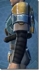 Refurbished Scrapyard Armor - Male Left