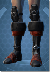 Revanite Avenger Male Boots