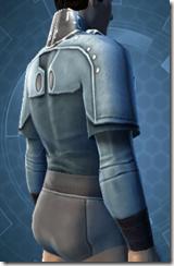 Sith Assailant's Vest - Male Right