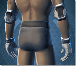 Strategist Gloves - Male Back