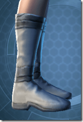 Synthleather Kneeboots - Female Right