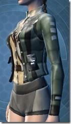 Talloran Scout's Jacket - Female Left