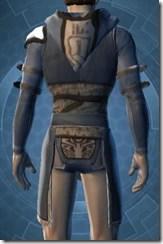 Temple Watchman's Vest - Male Back