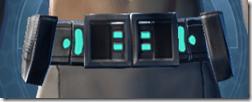 Traveler's Belt - Male Front