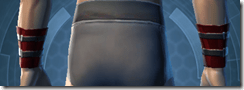 Traveler's Cuffs - Male Back