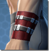 Traveler's Cuffs - Male Left