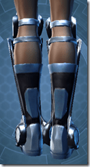 Vindicator's Boots - Female Back