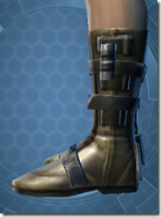 Vindicator's Boots - Male Left