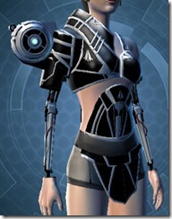 B-200 Cybernetic Female Breastplate