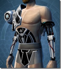 B-200 Cybernetic Male Breastplate