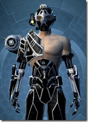 B-200 Cybernetic - Male Close