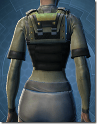Battle Armor - Female Back