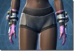 Battle Gauntlets Dyed