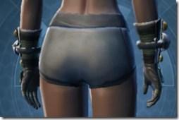 Battle Gauntlets - Female Back