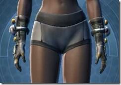 Battle Gauntlets - Female Front