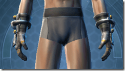 Battle Gauntlets - Male Front