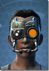 Battle Headguard - Female Front