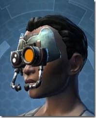 Battle Headguard - Female Left