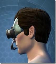 Battle Headguard - Male Left