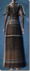 Brocart Coat - Female Back