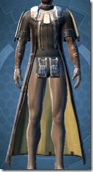 Brocart Coat - Male Front