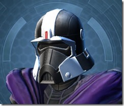 Dark Legionnaire Hides Hood