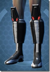 Dark Legionnaire Male Boots
