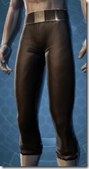 Elegant Duelist Male Pants