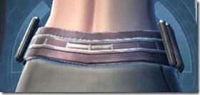 Indignation Belt - Female Back