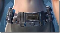 Indignation Belt - Female Front