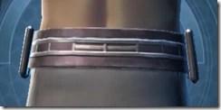 Indignation Belt - Male Back