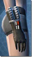 Indignation Handgear - Female Right