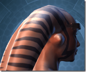 Indignation Headgear - Twi'lek Right