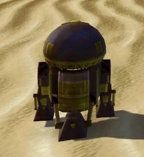 M4-1S Astromech Droid Back