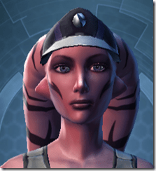 RD-03A Recon Headgear - Twi'lek Front