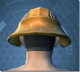 RD-13A Raider Helmet - Male Back