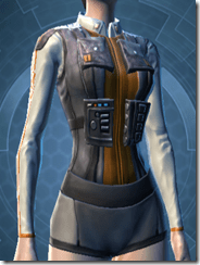 Trainee Female Body Armor
