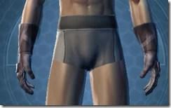 Trellised Gauntlets - Male Front